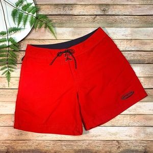 Patagonia Red Boardshorts Quick-Dry Womens 9